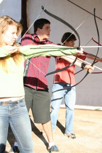 Archery -at Academe of the Oaks, Decatur, Georgia USA