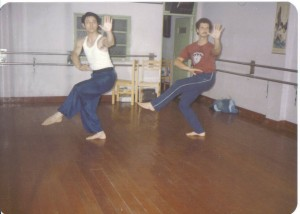 Training with Chen Yun-ching 1984